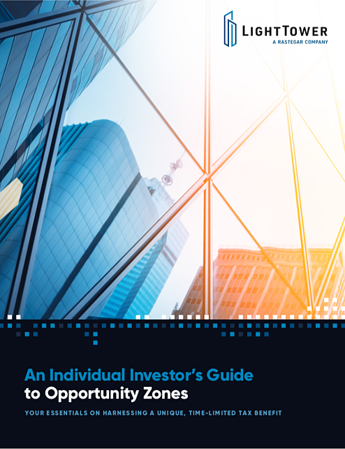 Opportunity zone eBook cover